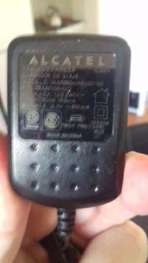 Cargador Alcatel Carga Rapida Original,
