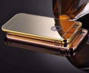 Funda dorada espejada iphone 6/6s