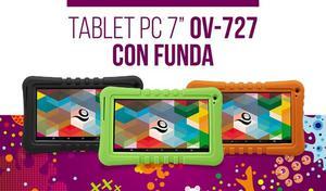 NUEVA TABLET OVERTECH 727 CON PROTECCION PARA NIÑOS