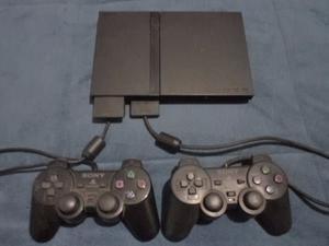 PlayStation 2 Con 2 Joysticks y 6 juegos