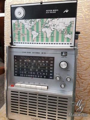 Radio Noblex 7 Mares Funcionando Con Fm. Cód.: #