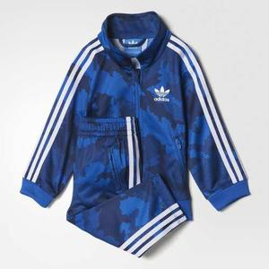 Adidas Conjunto Nene Campera Pantalon