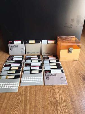 Diskettes 5 1/4 Usados De Baja Y De Alta En Caja Rigida