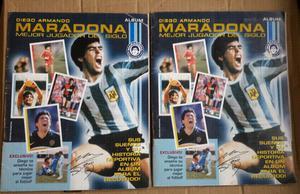 HAGO ENVIOS Album de Maradona completo + album de maradona