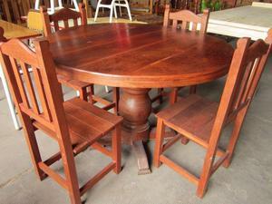 JUEGO DE COMEDOR (mesa y 4 sillas)!!!