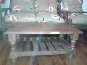 Juego de sillones + mesa ratona
