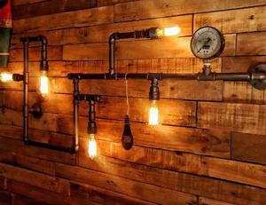 Lampara Aplique Pared Vintage Industrial