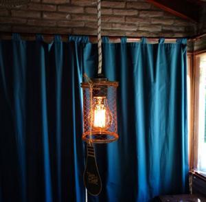 Lámpara Vintage Colgante Vieja Eddie