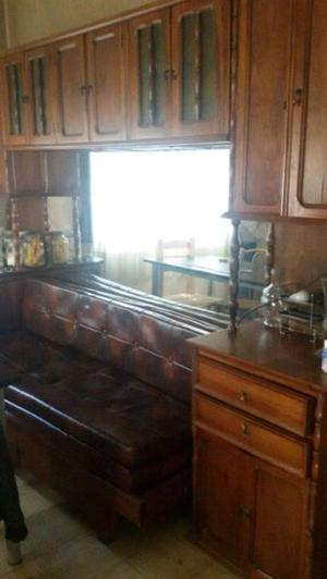 REMATO unico mueble vajillero de living o cocina (CEDRO)