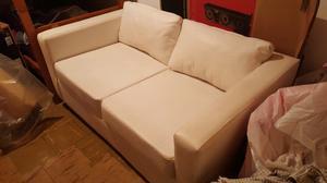 Sofa sillon dos cuerpos en ecocuero color posot class for Sofa cama de 2 cuerpos