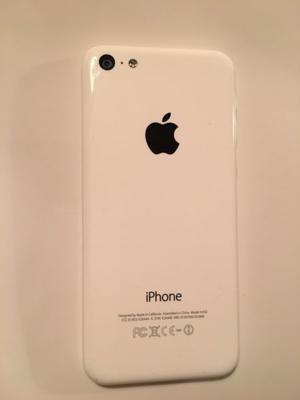 Vendo Iphone 5c blanco casi nuevo liberado de fabrica