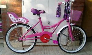 Bicicleta de nena rodado 20 NUEVA