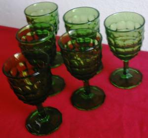 Vasos copas floreros vidrio rustico reciclado posot class for Vasos copas vidrio