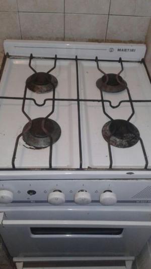 Cocina cuatro hornallas