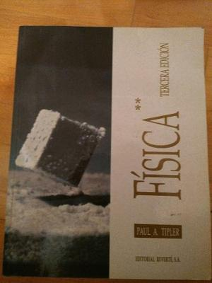 Fisica - Tipler 3ra Edicion - Como Nuevo