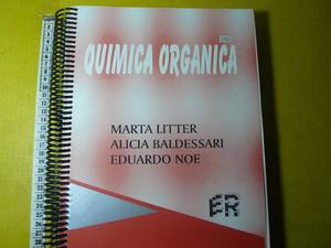 Libro Quimica Organica Litter Noe Ingenieria Utn Er