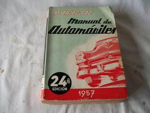 Manual De Automóviles - M. Arias Paz - 24° Edición -