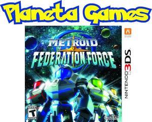 Metroid Prime Federation Force Nintendo 3ds Nuevos Caja