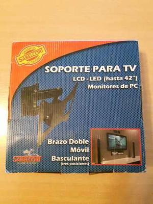 Soporte Para Tv Led Hasta 42 Sabelcort