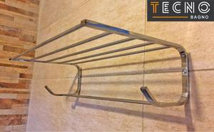 Alacena repisa o toallero organizador posot class for Toallero bronce