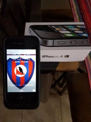 Vendo IPhone 4S liberado poco uso con caja y accesorios