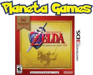 Zelda Ocarina of Time Nintendo 3ds Nuevos Caja Sellada