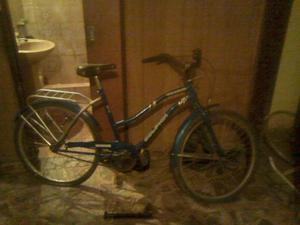 bicicleta rodado 26 de mujer, poco uso!