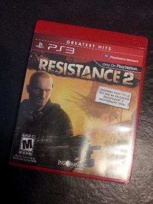resistance 2 original para ps3 nuevo sin uso