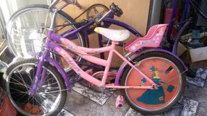 vendo espectacular bicicleta de nena nueva