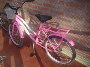 Bicicleta BARBIE Rodado 20 Usada