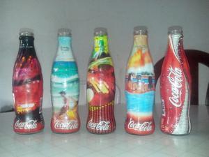Botellas de Coca Cola de colección 237 cm3