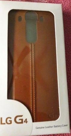 Carcasa Original LG para G4 de Cuero