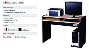 MESA DE PC PLATINUM - MODELO 424