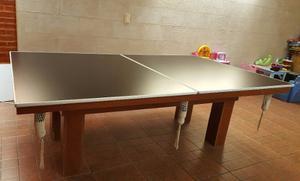 Mesa Pool Ping Pong Comedor Quincho
