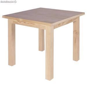Mesas y sillas de pino zona pilar
