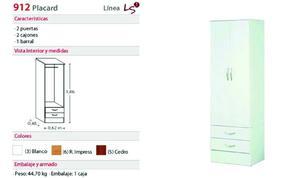 PLACARD PLATINUM - MODELO 912 LINEA LS