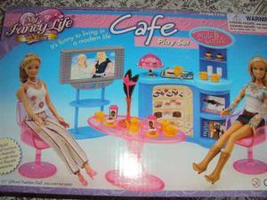 Set De Cafe Para Tu Barbie