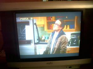 "TV Sanyo 21"" Pantalla Plana. Funcionando."