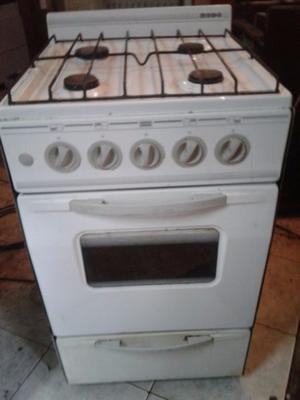 Cocina domec gas natural usada impecable en posot class - Cocinas a gas natural ...