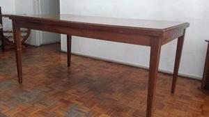 Mesa de cedro maciza