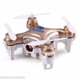 Mini Drone Cheerson cx 10W Wifi C/ Camara Cuadricóptero