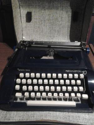 Máquina de escribir Remington 10 Sperry Rand excelente