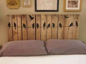 Respaldares Rusticos para camas de 1 y 2 plazas