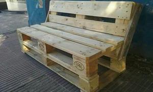 Sillones de madera posot class for Sillones de madera reciclada