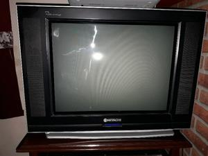 "Tv Hitachi ultra slim de 21"""