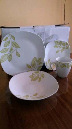 Vajilla porcelana excelente calidad