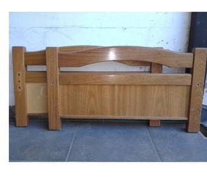 Cama de roble de 1 plaza en hurlingham posot class for Vendo sillon cama 1 plaza
