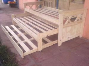 Vendo cama nido futones mesas sillas etc