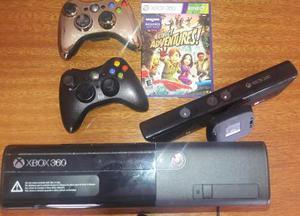 Xbox 360 Super Slim Kinect + Juego + 1 Joystick. Como Nueva