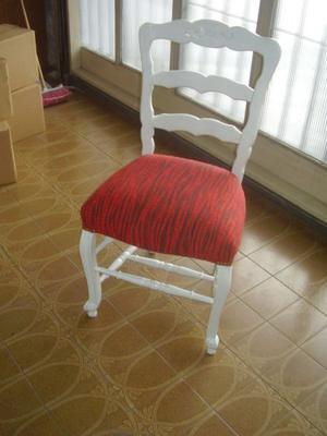 antigua silla estilo provenzal